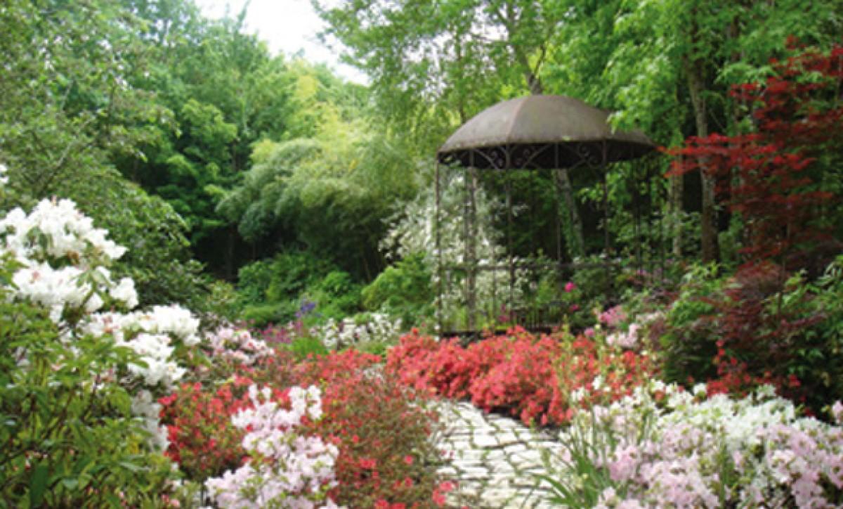 Jardin D Atmosphere Du Petit Bordeaux Jardin En Pays De La Loire Situe A Saint Biez En Belin En Sarthe 72