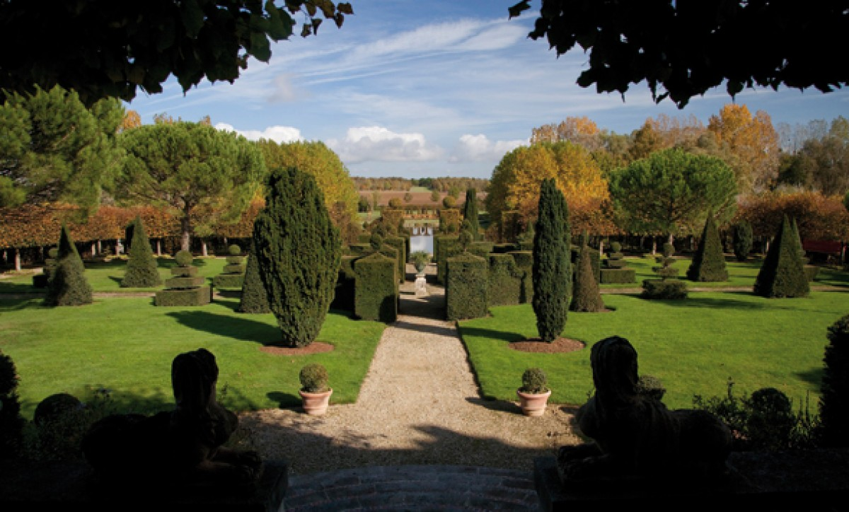 Jardins du b timent jardin en pays de la loire situ for Jardin william christie