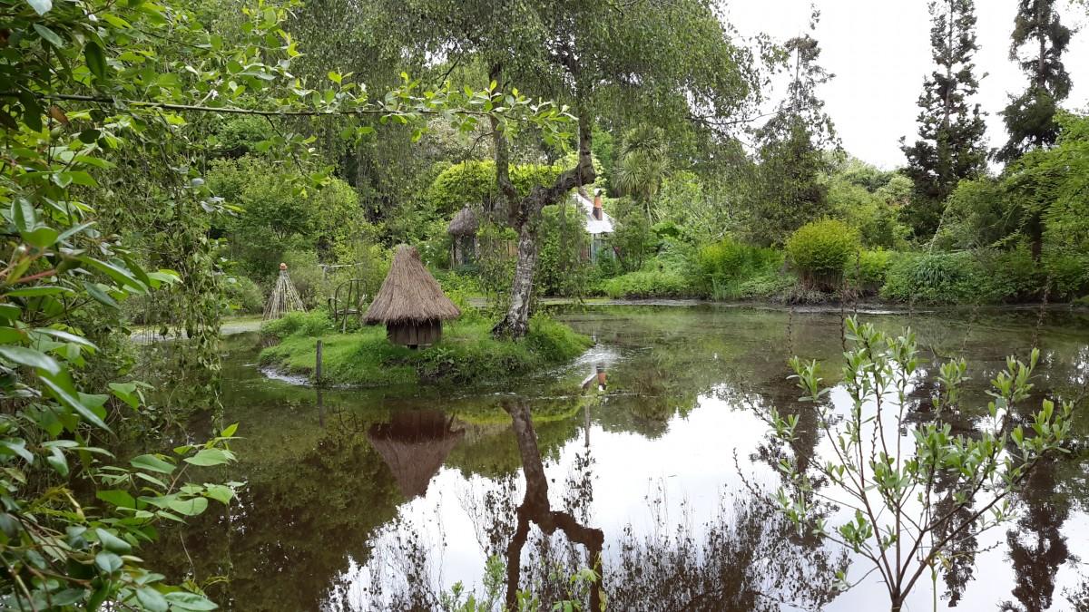 Jardins du marais jardin en pays de la loire situ for Atlantique jardin